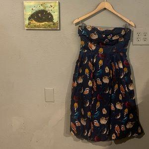 •Anthropologie• Maeve•Bird Dress•